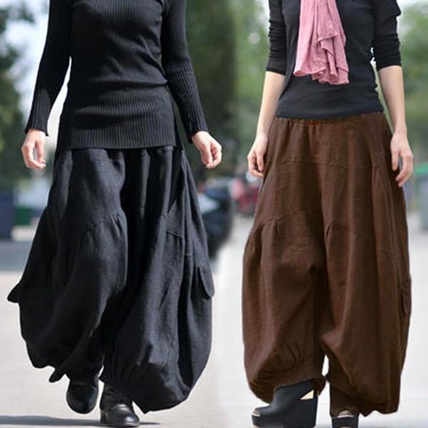 maxipant, Women Pants, harem, trousers