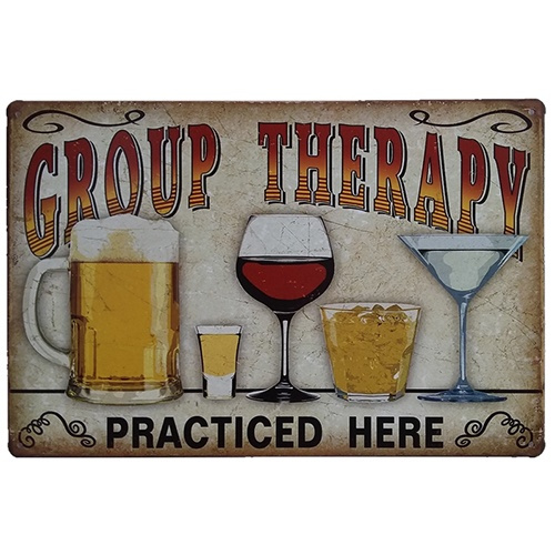 grouptherapy, decoration, art, barpubclubwalldecoration