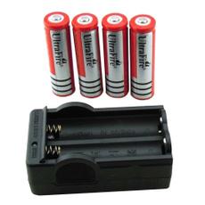 Flashlight, led, 18650, Battery