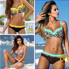 Underwear, Fashion, Halter, padded bikini