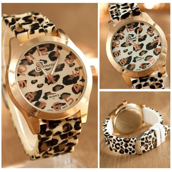 Fashion, printedclock, Geneva, Clock