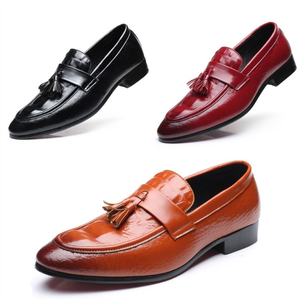 Flats & Oxfords, loafersslipon, Fashion, leather shoes