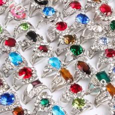 Sterling, DIAMOND, Women Ring, Mixed Lots