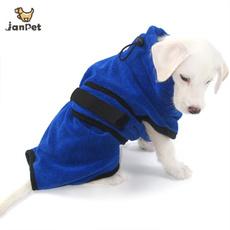 dogbathrobe, petdryingtowel, dog coat, Pets