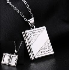 Sterling, Box, 925 sterling silver, boxpendantnecklace