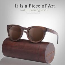 retro sunglasses, Fashion Sunglasses, Bamboo, Wooden