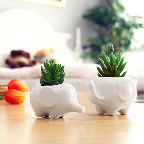 Mini, cute, Ceramic, Home Decor