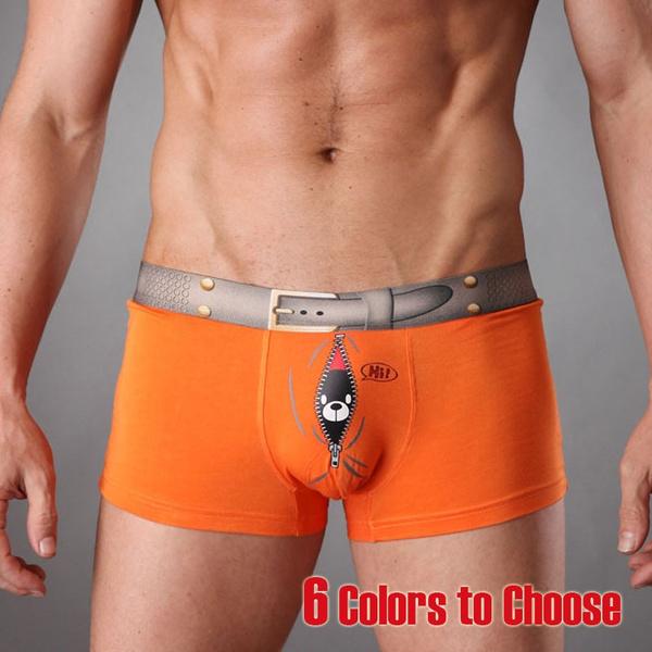 Underwear, Shorts, sexy men's underwear, men boxer