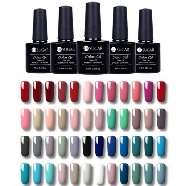7 5ml Bottle Ur Sugar Soak Off Uv Gel Polish Red Grey Series Nail Art Gel Polish 112 Colors Optional Wish
