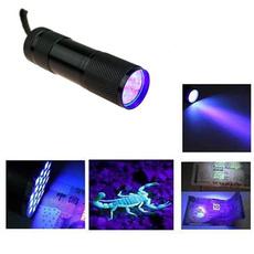 Flashlight, Mini, Lighting, uv