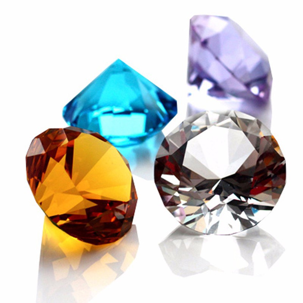 glasspaperweight, DIAMOND, Home Decor, Gifts
