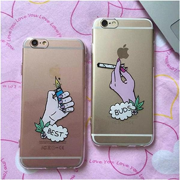 Transparent Tpu Soft Case Best Buds Friends Cases For Iphone 8 8plus 5 5s Se 6 6s Plus 7 7plus Wish
