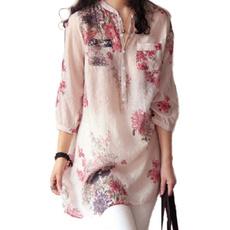 blouse, Plus Size, longtop, Shirt