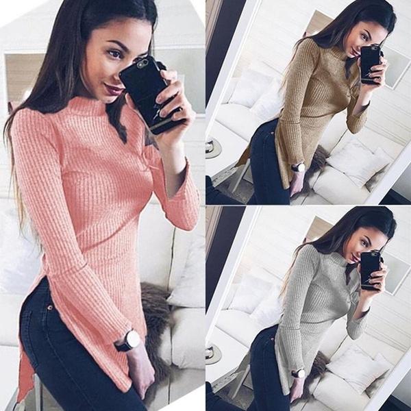 women pullover, knitwear, Women Sweater, Long Sleeve