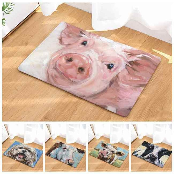 doormat, Home Decor, pigpattern, Indoor