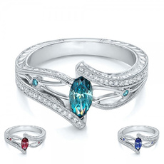 Sterling, DIAMOND, Bride, sterling silver