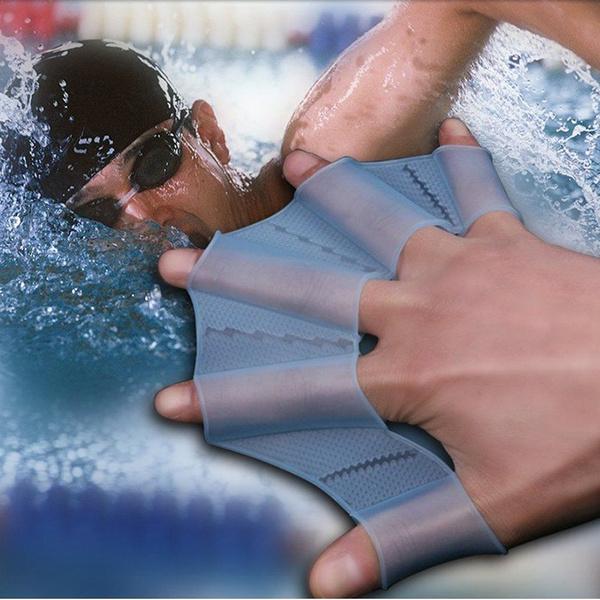 swimgearfin, Silicone, Gloves, divingfin