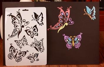 butterfly, Decorative, Fashion, Butterflies