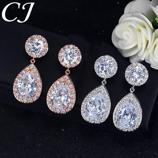 18 k, DIAMOND, cubiczircon, gold