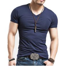 sleeve v-neck, Fashion, mensvnecktshirt, Sleeve