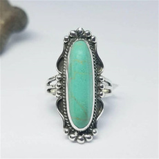Antique, Sterling, Turquoise, Engagement