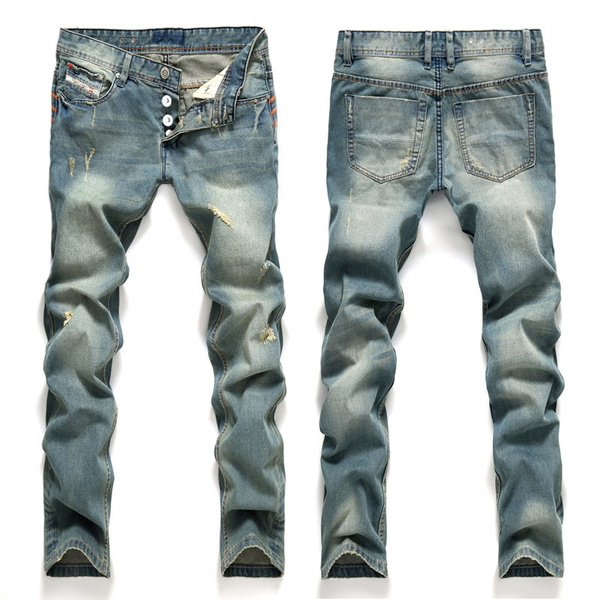 Blues, Slim Fit, newjean, pants