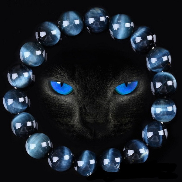 Charm Bracelet, Beaded Bracelets, Crystal, eye