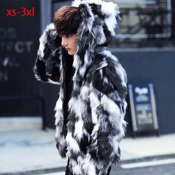fur coat, hooded, Winter, Coat