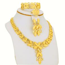 goldplated, 24kgoldplatedjewelryset, Jewelry, Gifts