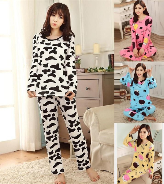 cute, Home & Kitchen, womensnightgown, Long Sleeve