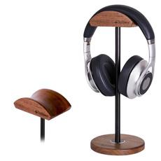 earphonestand, Earphone, headphoneholder, Wooden
