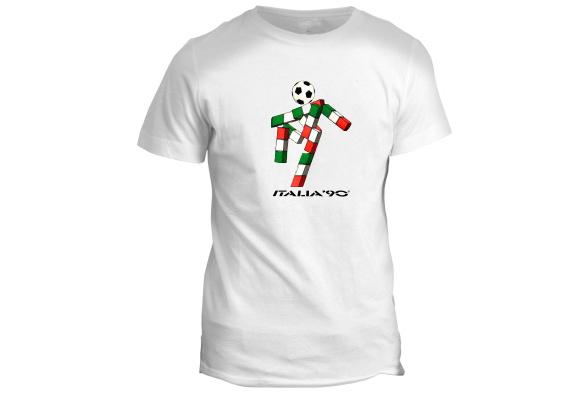 World Cup Italian Italy Inspired Retro Personalised Football T-Shirt Champions Euros