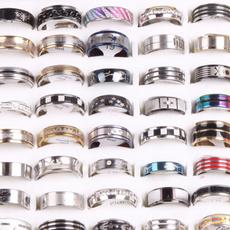 Steel, wholesale jewellery bulk lots, Engagement Wedding Ring Set, wedding ring