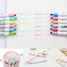 planner, fluorescentpen, watercolormarker, markingpen
