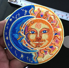 Fashion, irononapplique, roundpatch, embroiderypatch