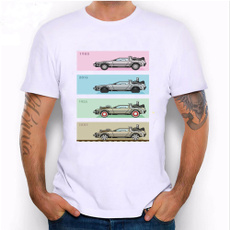 delorean, Fashion, Cotton T Shirt, Novelty