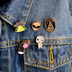 cute, Fashion, Pins, ufo