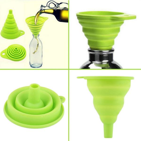 Foldable, funnel, Kitchen, Mini