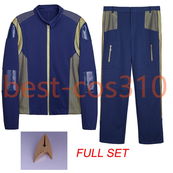 Star Trek Discovery Commander Uniform Cosplay Kostuum Cosplay Set