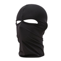 Uyuke Knitted Full Face Mask with 3 Holes Winter Warm Knit Mask Elastic Mask for Sking Cycling Outdoor Activities