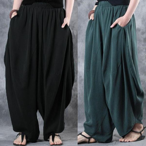 Women Pants, elasticwaistpant, casualtrouser, Elastic