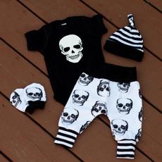 Summer, Mode, skull, pants