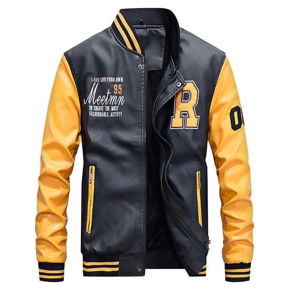 Plus Size, Winter, PU, leather