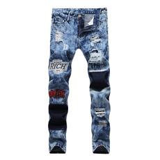 Blues, men jeans, ripped, Fashion