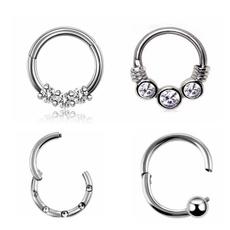 Steel, Fashion, Jewelry, nosehoop