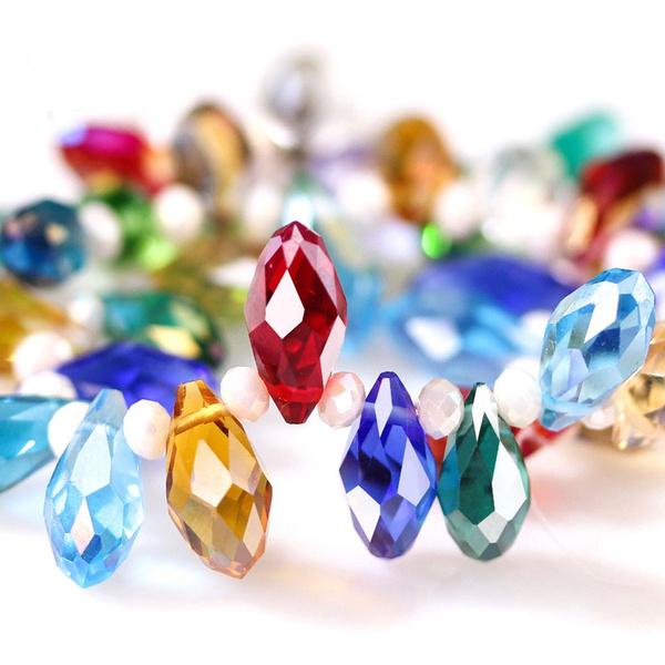 ovalbead, crystalbead, Crystal, Czech