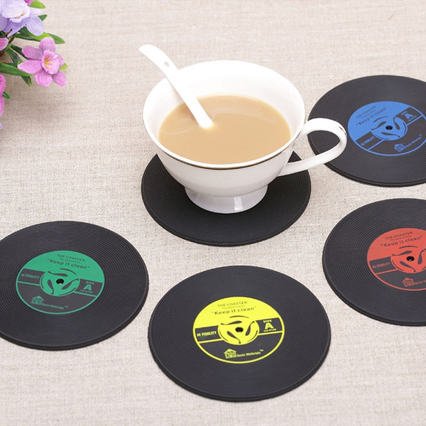 Coasters, kitchendiningbar, Cup, Silicone