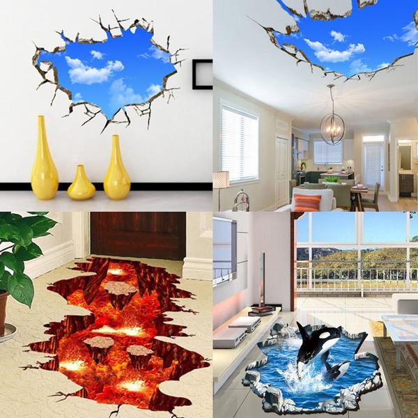 art, Home Decor, 3dwallsticker, stickermural