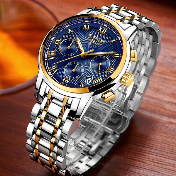 quartz, business watch, Waterproof, Mens Watch