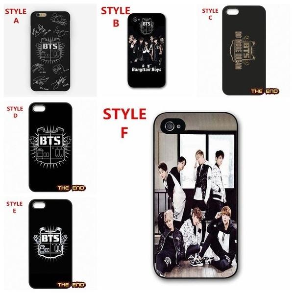 Bts Bangtan Boys Iphone 6 6s 7 7plus 8 8plus Case Design Bts Logo Wallpaper Samsung S7 S8 Plus Huawei P10 Hard Plastics Case Cover Wish